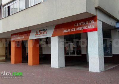 clinica-sante-iasi-panou-semnalizare