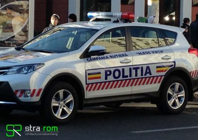 foliere auto politie