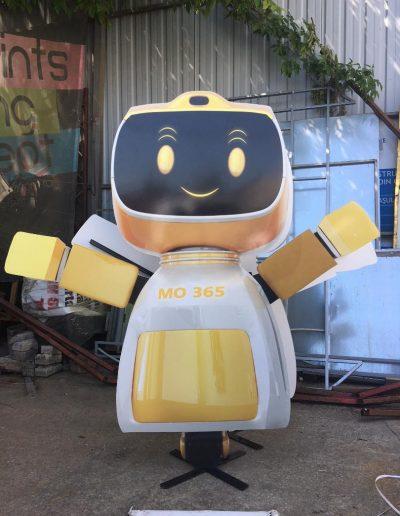 mascota butaforie