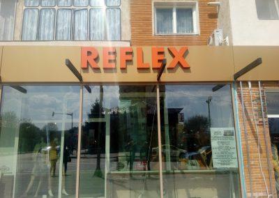 reflex -litere volumetrice