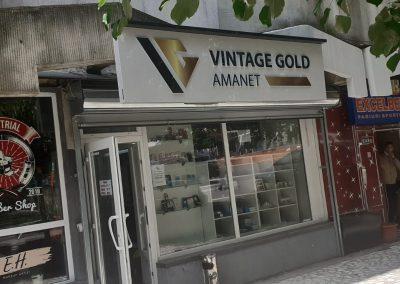 vintage gold Tg Frumos
